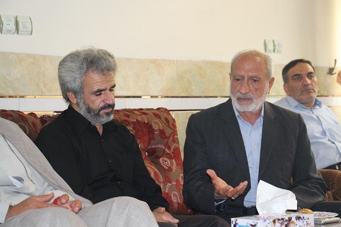 تجدید میثاق کارکنان سما نجف آباد با آرمانهای شهدا و شهید محسن حججی